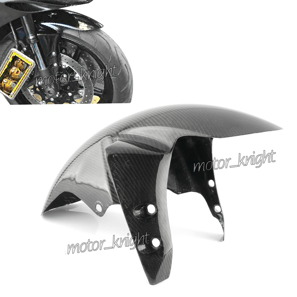 Carbon Fiber Front Fender Mud Guard Fairing Cover Fairing For YAMAHA YZF-R1 2002-2008/R6 2005/FZ1 2006-2015/FZ8 2011 2012 2013