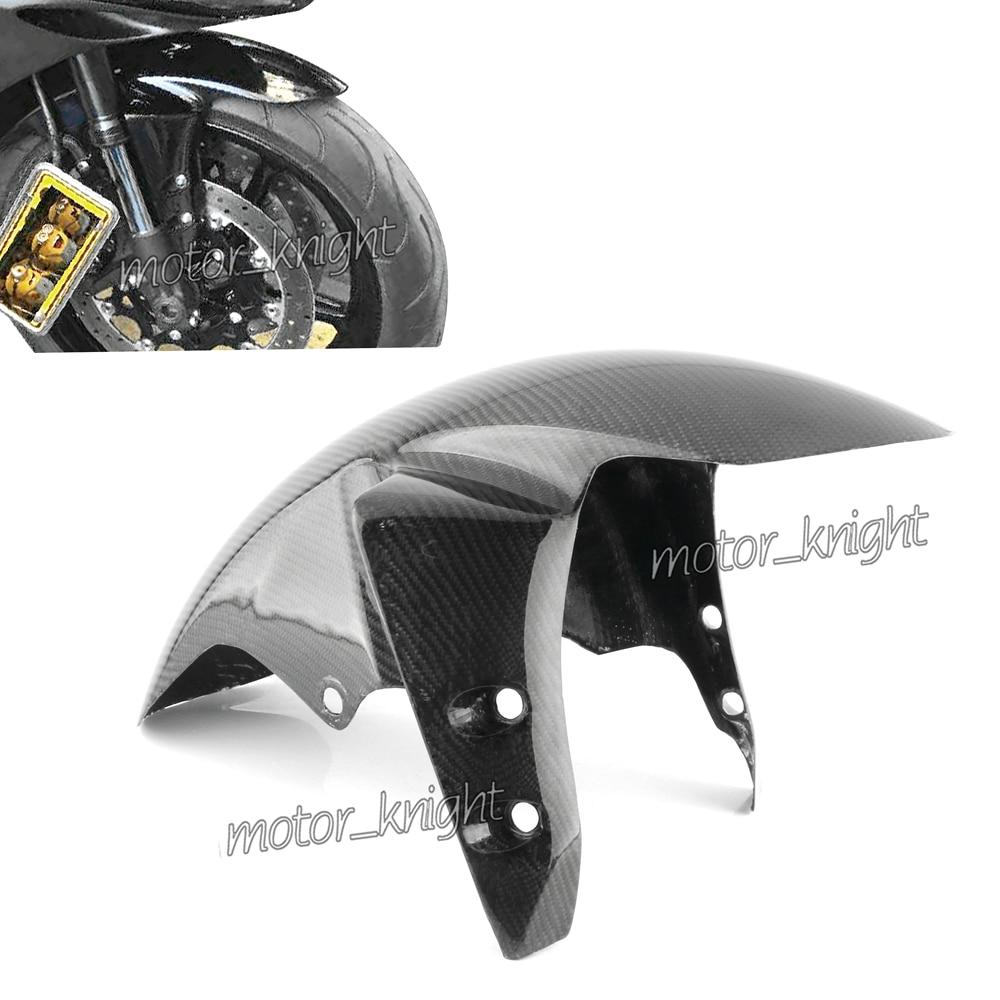 Carbon Fiber Front Fender Mud Guard Fairing Cover Fairing For YAMAHA YZF-R1 2002-2008/R6 2005/FZ1 2006-2015/FZ8 2011 2012 2013