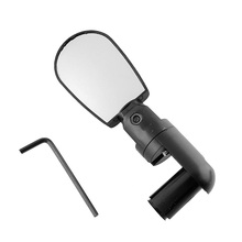 Universal 360 Rotate Cycling Bike Handlebar Wide Angle Rearview Mirror Mini Flexible Adjustable Bicycle Accessories Bike Mirrors