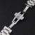 Nueva Promoción Correa de Reloj 28mm Correa de Reloj de Pulsera de Acero Inoxidable con fondo de Empuje Oculto MARIPOSA hebilla de Plata Negro