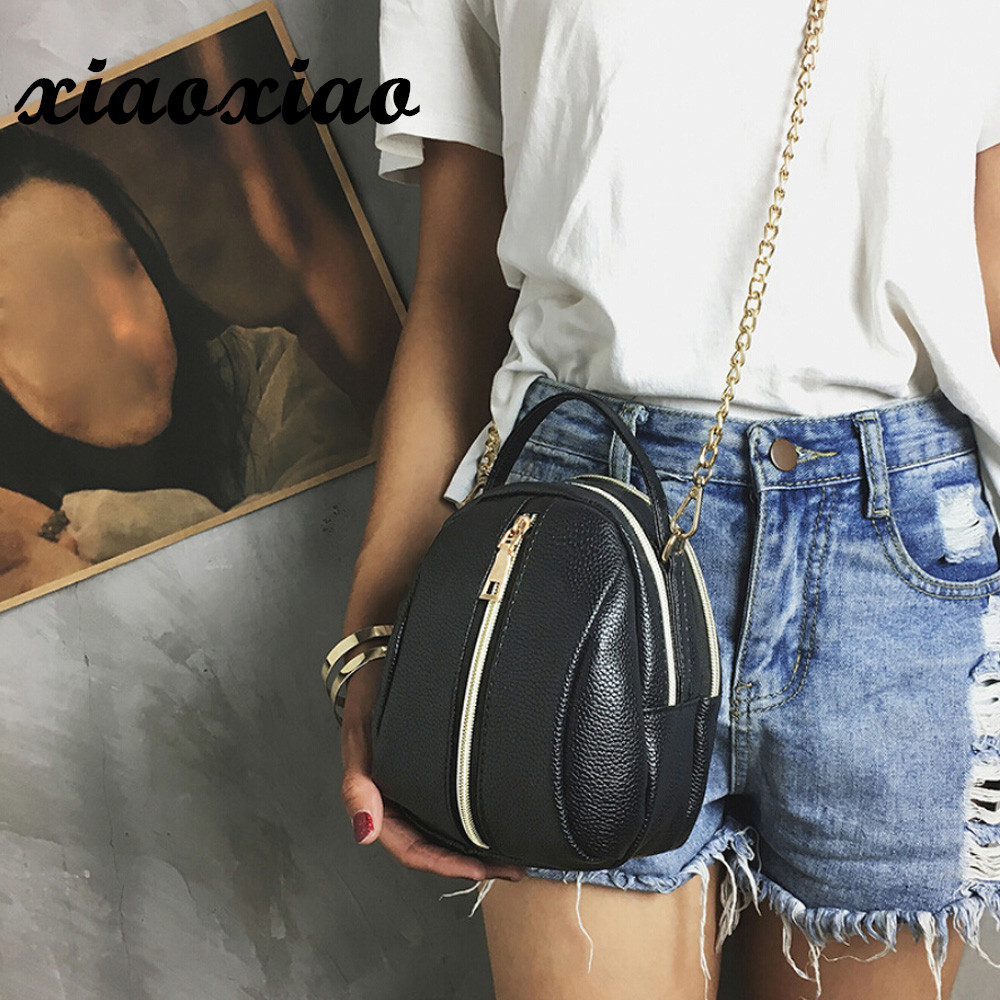 Simple Mini Chain Women Crossbody Bags Bag Messenger Shoulder Sling Handbag Bolsos Mujer super quality female bags
