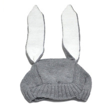 Rabbit Baby Hat for Newborn Girls and Boys