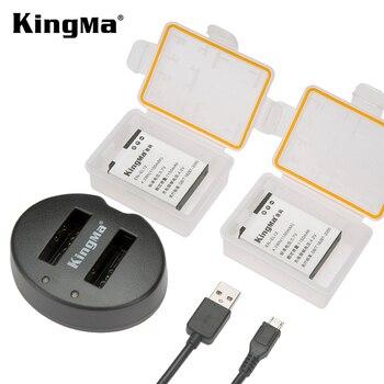 KingMa EN-EL12 ENEL12 EN EL12 Battery + Dual USB Charger for Nikon Camera Coolpix S9900 S9700 AW120 S9500 AW110 AW100 S70 S9700s фото