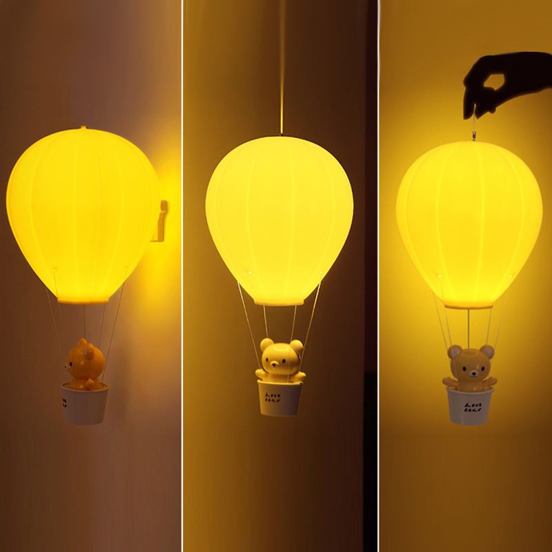 Adeeing Dimmbare Heißer Luft Ballon LED Nachtlicht Kinder Baby ...