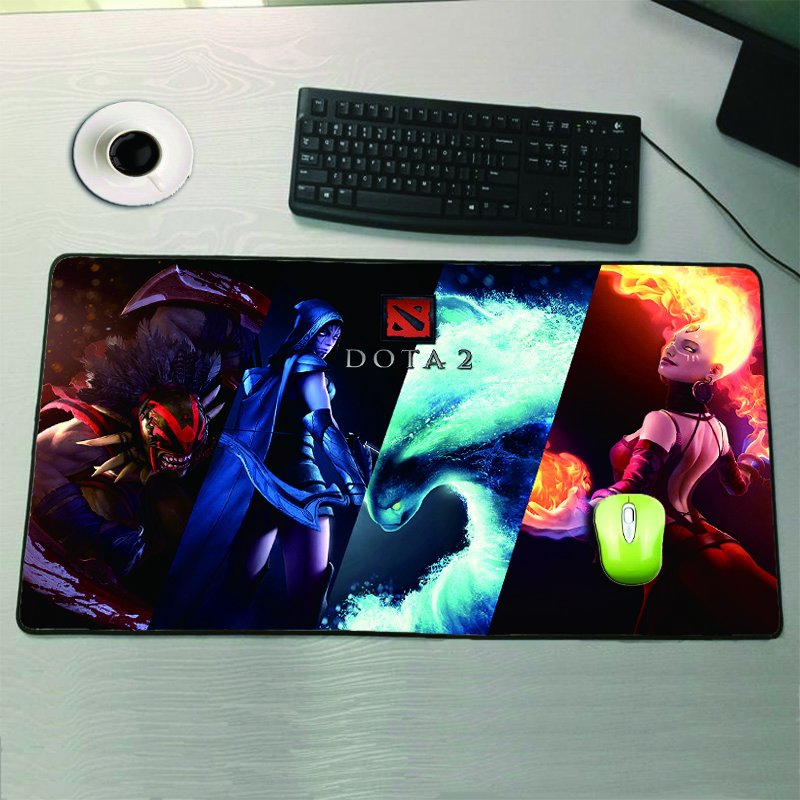 Computer Peripherals Professional Sale Mairuige Japan Anime Mouse Pad No Locking Edge Large Gaming Mouse Pads For Computer Laptop Mousepad Computer Desk Mat