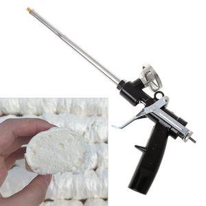 Image 1 - 340 millimetri di Plastica Professionale In Metallo Manuale Schiuma di Poliuretano Espansione Pistola A Spruzzo Per Il Sigillante Di Vetro
