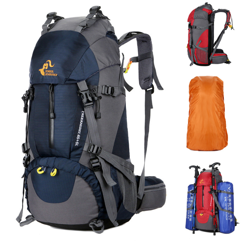 FengTu 50L Large Hiking Backpacks Outdoor Climbing ...