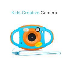 Mini Kid Cameras 5MP HD Projection Digital Camera Portable C