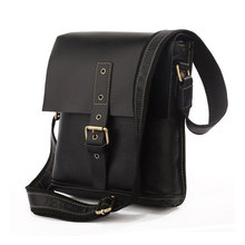 New Style Genuine Leather Sling Bag Shoulder Vintage Bag Fashion Messenger Bag # 7157B