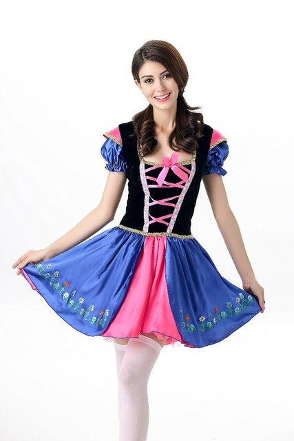pink blue beer servant costume halloween costume for girls