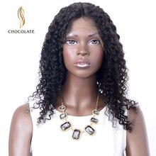 Длинные волнистые синтетические парики для волос для женщин черный цвет Remy бразильский кудрявый короткий парик с волосами младенца