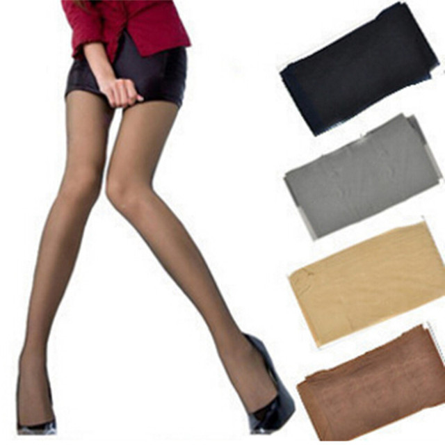 Super Elastic Magical Tights Silk Stockings Skinny Legs Black Sexy Pantyhose Prevent Hook Silk Medias Women Stocking 1
