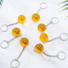 Anime Comic Dragon Ball Cosplay Prop Keychain Diameter 2.7CM Hanging Ornament Pendant key chain