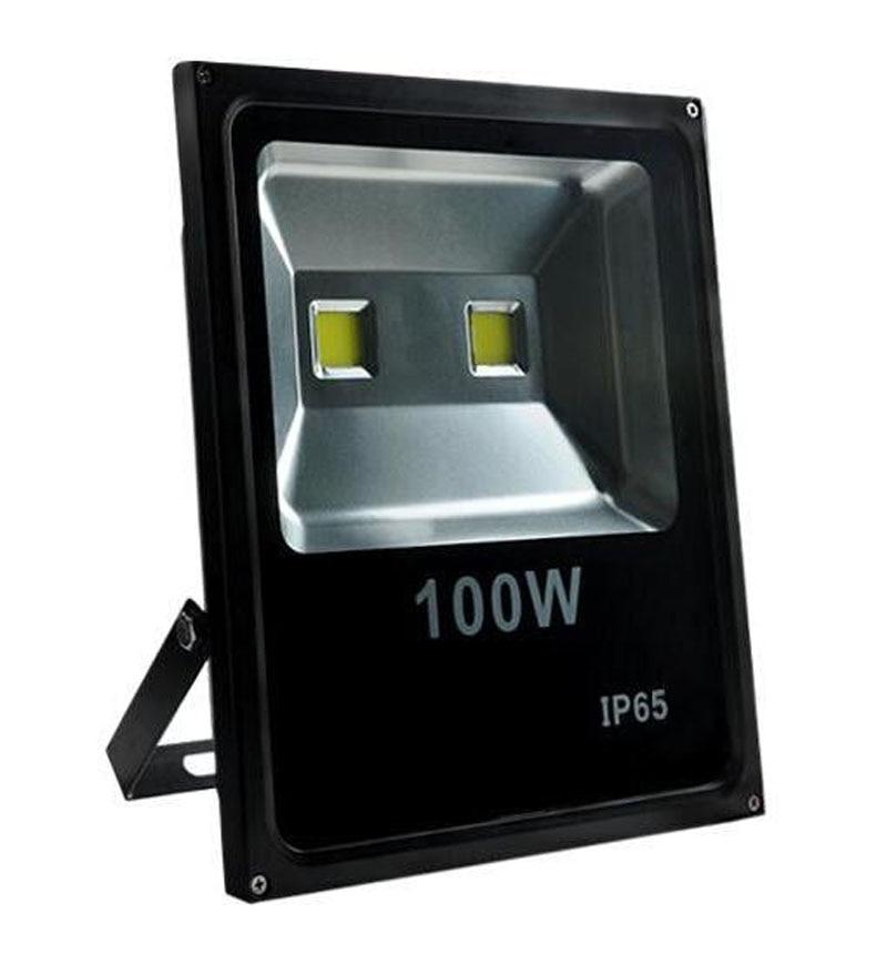 Ультратонкий Светодиодный прожектор без водителя 20 Вт 30 Вт 50 Вт 100 Вт AC85 265V водонепроницаемый IP65 прожектор Наружное освещение
