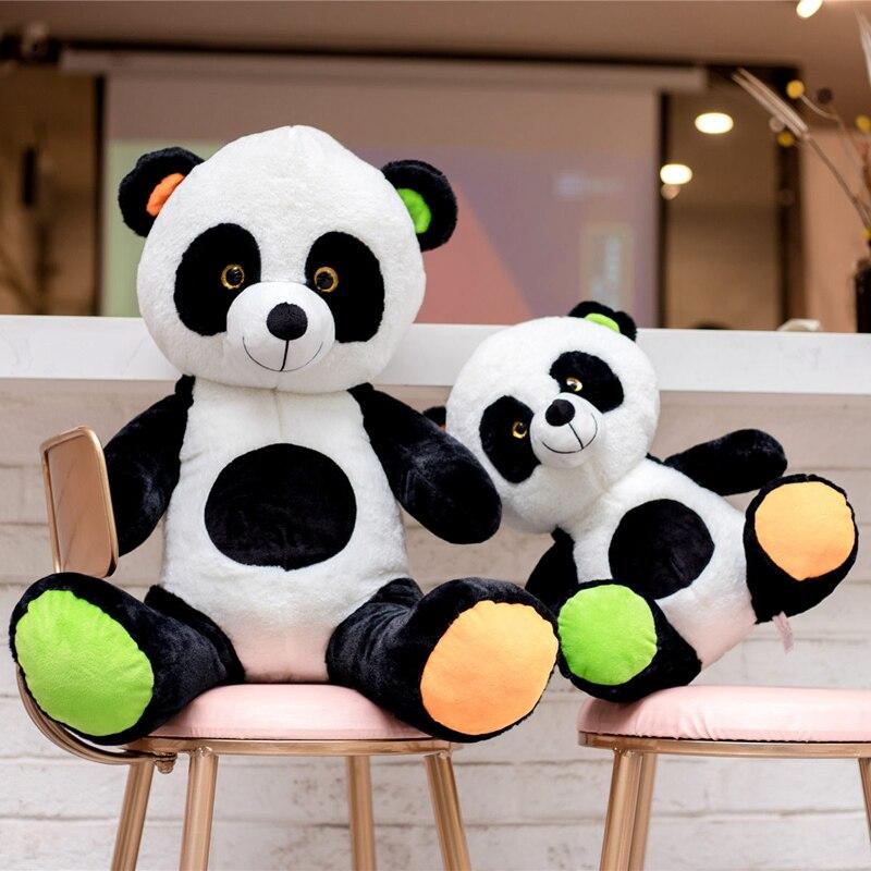 40 60 Cm Kawaii Bébé Grand Panda Géant En Peluche Peluche
