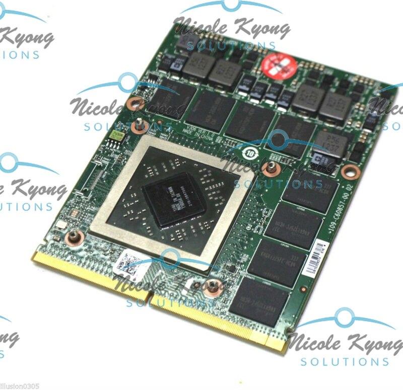 HD8970M HD 8970M R9 290X 2GB GDDR5 MXM For Alienware M6800 M6100 M6000  M17x R4 M17x R5 M17X R6 M M18x R2 M18x R3 Kit