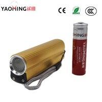 Banco de energía CREE 2000LM linterna LED USB Lámpara de antorcha recargable con encendedor de cigarrillo electrónico Linternas + batería 18650|cree 2000lm|led flashlight rechargeable|usb led flashlight -