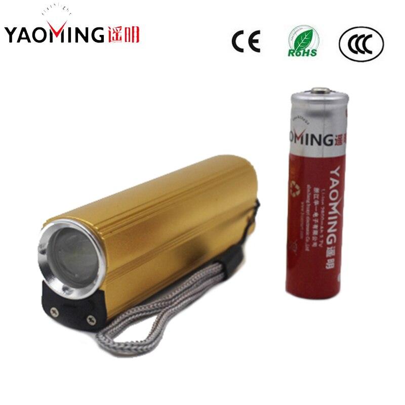 Puissance Banque CREE 2000LM USB LED lampe de Poche Rechargeable Lampe Torche Avec Cigarette Électronique Plus Léger Linternas + 18650 Batterie