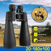 Portable Outdoor Telescope Binoculars Professional Binoculars Night Vision V20x180x100 Powerful Camping Hiking.