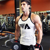 New 2018 Brand mens Summer men Tank Tops Clothing Bodybuilding Undershirt Casual Fitness tanktops tees CYY57