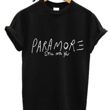 2016 New T-Shirts For Lovers Men & Women PARAMORE STILL INTO