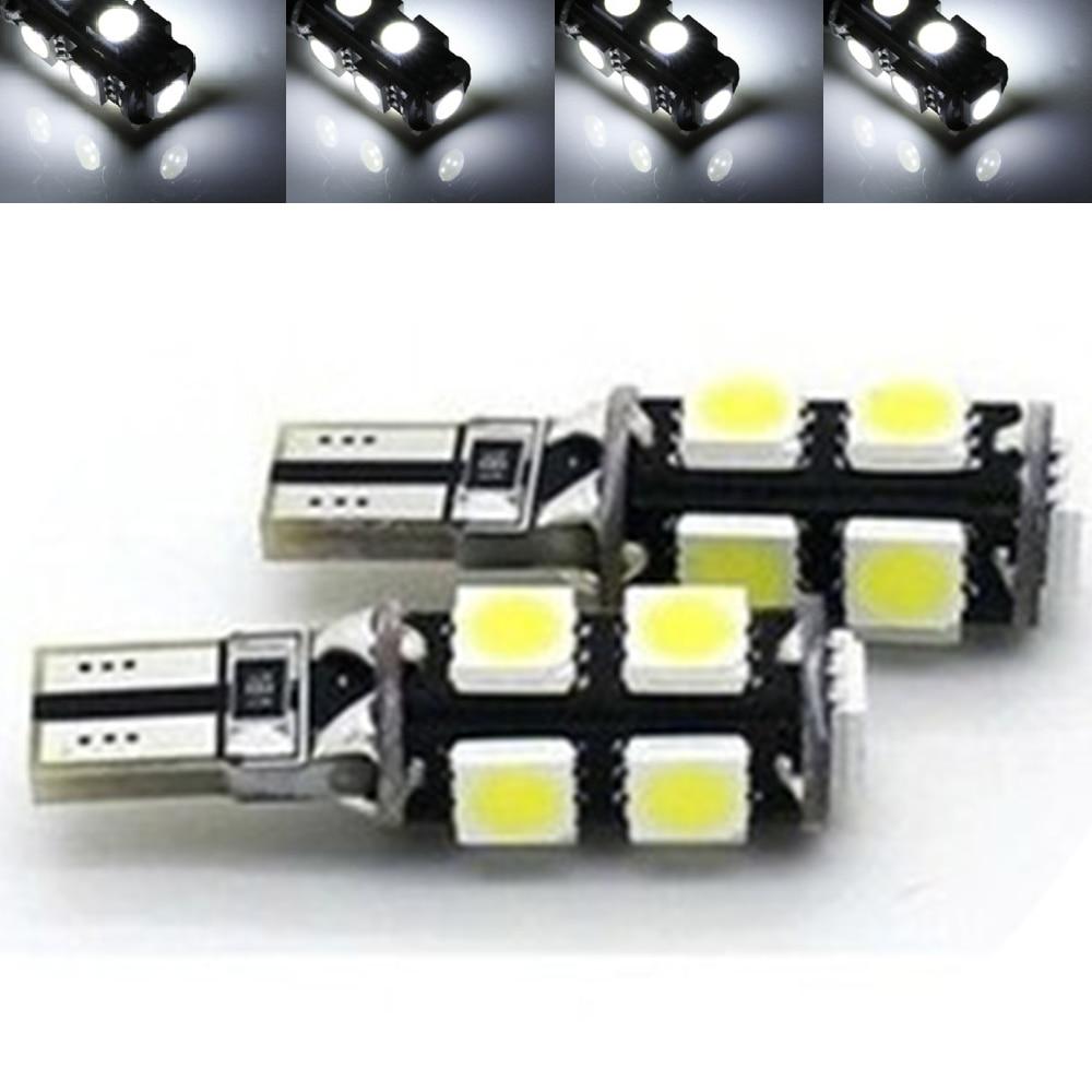 YSY 2pcs T10 <font><b>5050</b></font> canbus smd <font><b>led</b></font> 158 168 194 <font><b>w5w</b></font> 9smd <font><b>LED</b></font> Canbus Error Free Car Clearance Lights