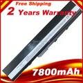 7800 mAh bateria para ASUS X52D X52DE X52DR X52F X52J X52JB X52JC X52JE X52JG X52JK X52JR X52N A32-K52 A32-K42