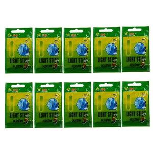 Image 5 - 50 Packs/box 4.5X37MM 7.5X75MM Fishing Glow Stick Luminous Night Sticks Wand Chemical Fluorescent Lighting Stick Pesca