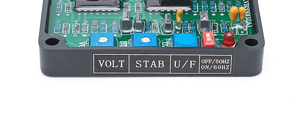 Gavr12a avr gerador automático regulador de tensão