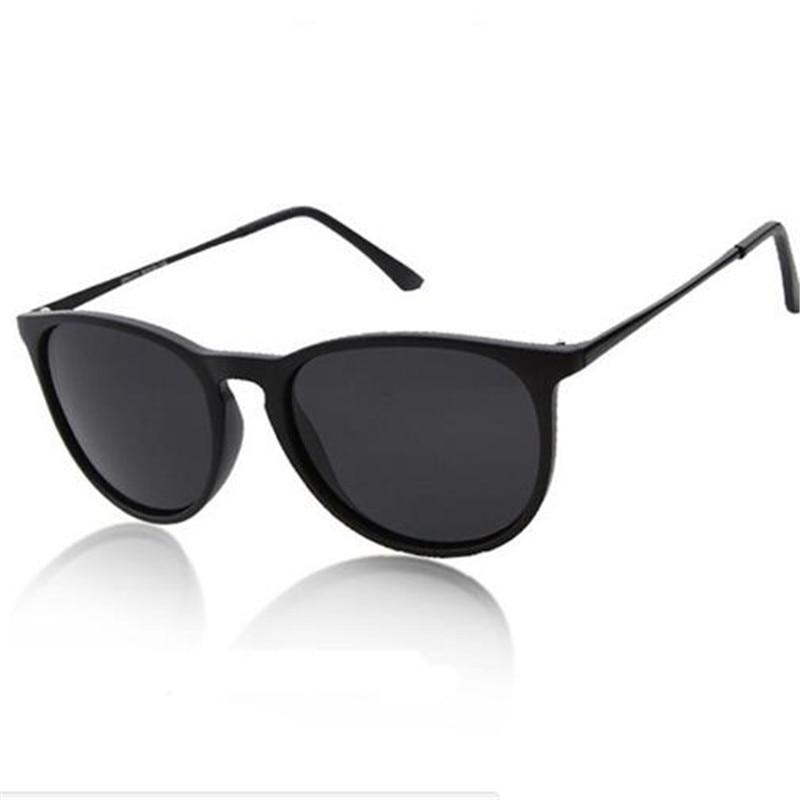 2018 Vintage Sonnenbrille Mann Marke Designer Erika Modelle Oculos De Sol Feminino Rays Schutz Gespiegelt Frauen Sonnenbrille 4171