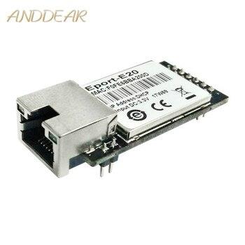 CE ANDDEAR Eport-E20 redundant redundant TTL and Ethernet modem integrado DHCP 3.3 V TCP IP Telnet wifi Modules High speed 1