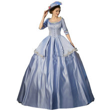 Customer to order! Vintage Costumes Victorian 1860S Civil War Gown historical dresses D-160