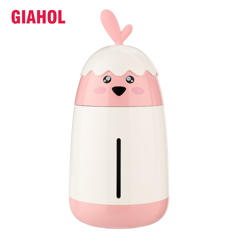 Portable Air Humidifier 200ML Cute Chicken Car Mini USB Ultrasonic 3 Colors Air Humidifiers With LED Night Light For Office Home