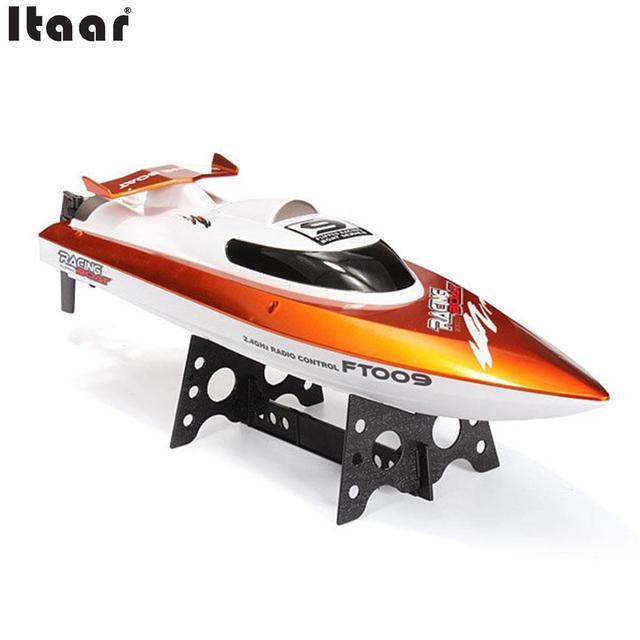 FT0092 30 km/h de Alta Velocidad RC Racing Barco Con Refrigeración por Agua Sistema de Auto-corregir