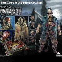 Полный набор фигурку COOMODEL X OUZHIXIANG NO. MF007/NO. MF006 MONSTER FILE серии Франкенштейн
