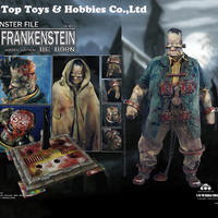 Full set action figure COOMODEL X OUZHIXIANG NO.MF007/NO.MF006 MONSTER FILE SERIES FRANKENSTEIN