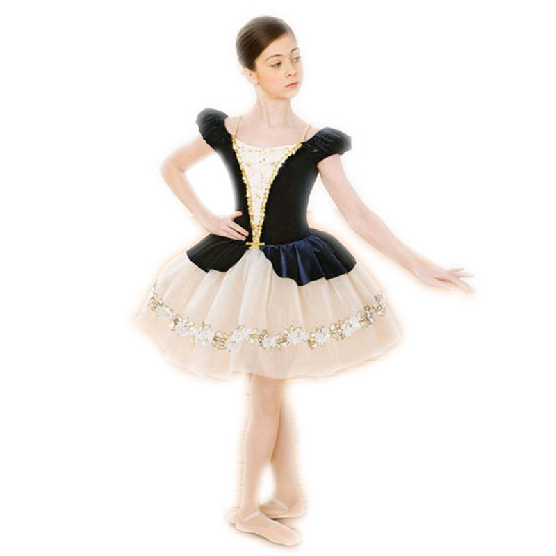 Взрослый профессиональная балетная пачка для детей Классическая танцевальная одежда для балета для девочек одежда Костюмы Купальник бале...