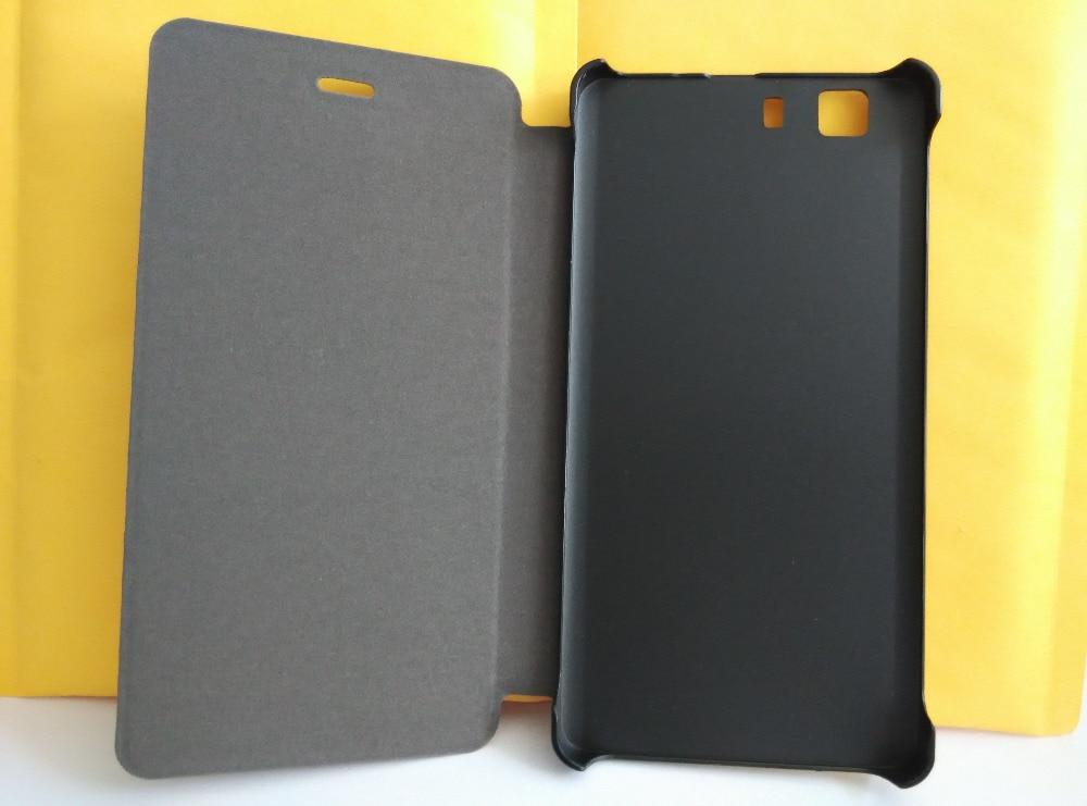 Eredeti új DOOGEE X5 tok, bőr tok, flip tok, védőhuzat a DOOGEE - Mobiltelefon alkatrész és tartozékok