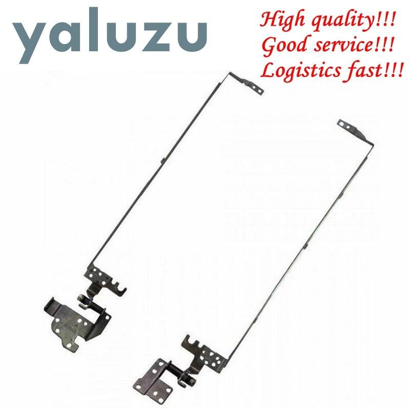 YALUZU NEUE Laptop LCD Scharniere für ACER aspire E1-570 E1-530 E1-510 E1-532 E1-552G E1-570G E1-552 PN: AM0VR000300 AM0VR000200 L + R