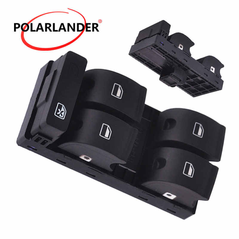 Voor AUDI A4 S4 B6 B7 RS4 Window Panel Fit toggle switch Master Power Elektronische Window Schakelaar Knop Console