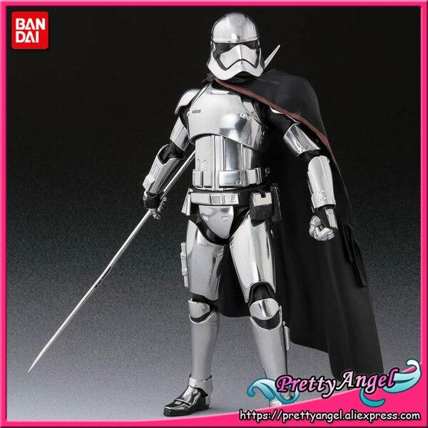 PrettyAngel - Genuine Bandai Tamashii Nations S.H.Figuarts : The Last Jedi Captain Phasma (The Last Jedi) Action Figure цена 2017
