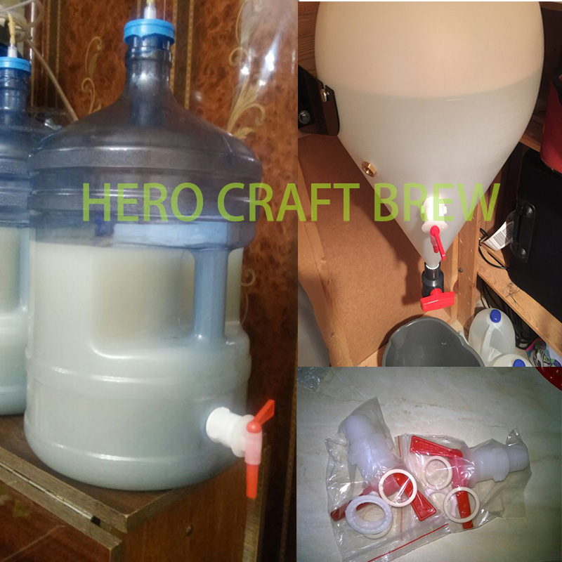 Hot Sale HIGH QUALITY Bottling Bucket Plastic Spigot, replacement spigot, 2 pcs/lot, homebrew bottling