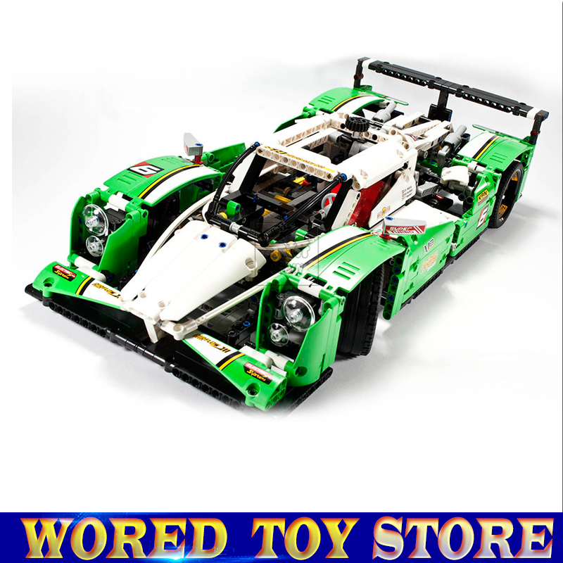 Models Building Toys The 24 Hours Race Car 20003 3364 Building Blocks Compatible with Legoed Technic 42039 Collect & Rare new lepin 16009 1151pcs queen anne s revenge pirates of the caribbean building blocks set compatible legoed with 4195 children
