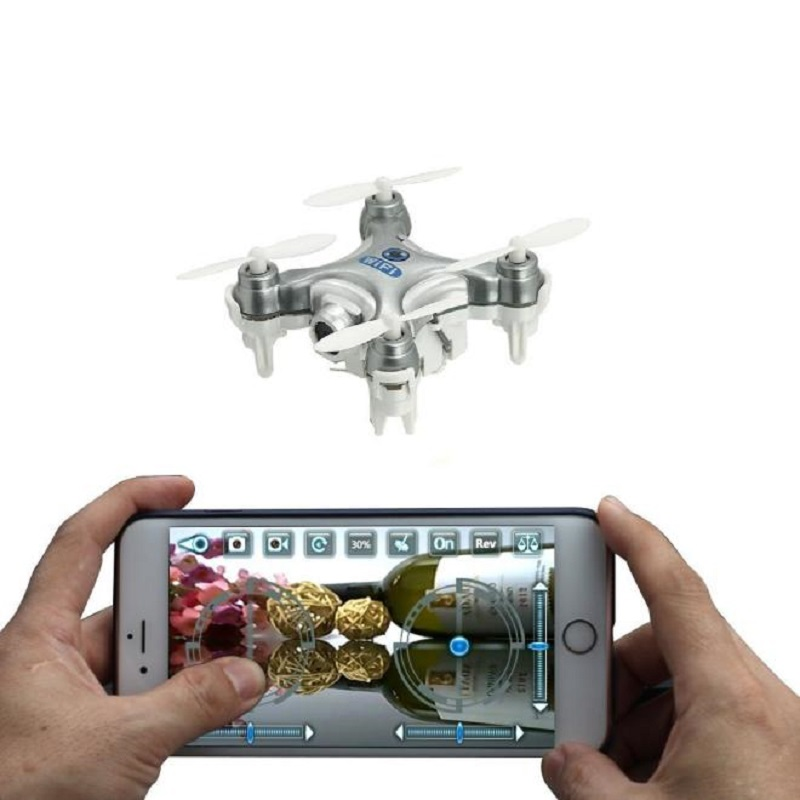 Original MINI 4CH 6-Axis Gyro Cheerson CX-10W RC Quadcopter with Camera WIFI rc plane electric helicopter