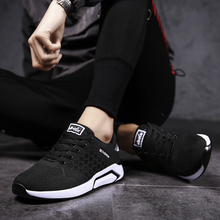 2018 new Men Casual Shoes Lightweight Breathable Flats Loafers High Quality  5