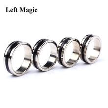 Черный круг Pk кольцо фокусы Магнитный съемник для жестких бирок для электронного отслеживания товара Магнит Кольцо монета украшение для пальцев 18/19/20/21 мм Размеры волшебное кольцо реквизит инструменты