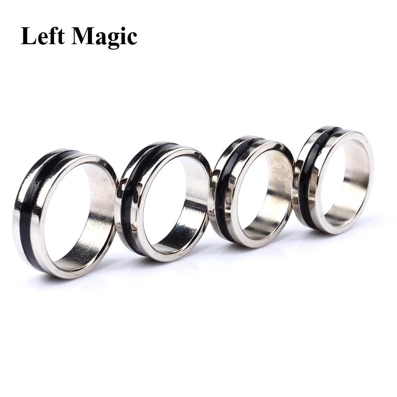 Magnetring Magic PK Ring Trick Pro Magier Show Prop Durchmesser Größe 21mm