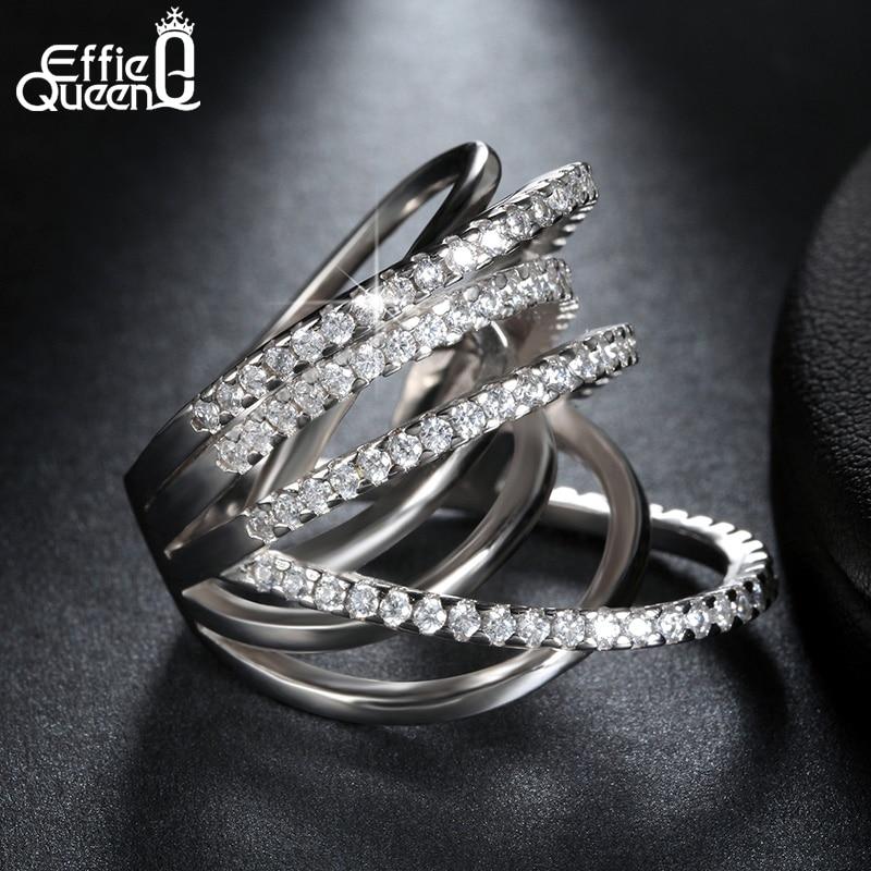 Effie Queen más nuevo diseño de joyería de moda brillante CZ - Bisutería - foto 3