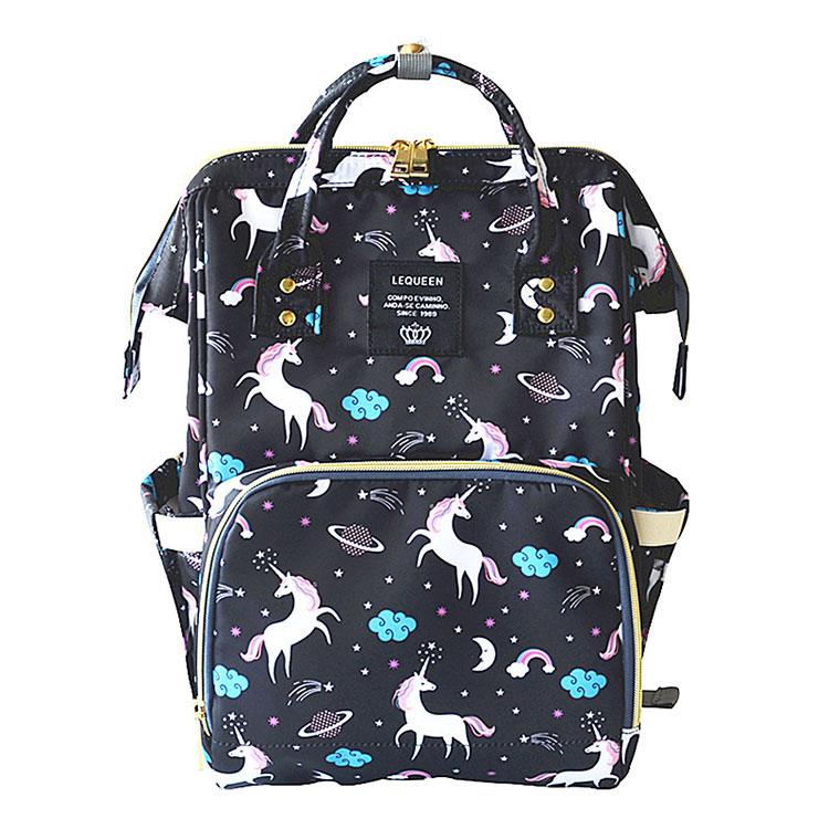 HTB1tYAKc6bguuRkHFrdq6z.LFXa7 Lequeen Fashion Mummy Maternity Nappy Bag Large Capacity Nappy Bag Travel Backpack Nursing Bag for Baby Care Women's Fashion Bag