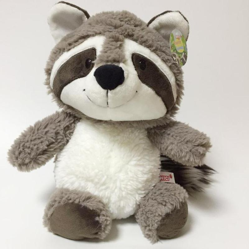 New NICI Cartoon Big Tail Raccoon Plush Toy Cute Soft Stuffed Animals Doll Pillow For Girls Children Kids Baby Birthday Gifts cute large toy big size 1pcs 100cm sheep plush toy alpaca doll soft stuffed animals pillow cushion kids toy girls birthday gifts